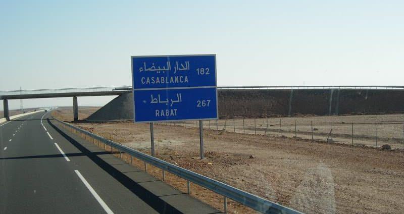 En Marruecos hay autovías y autopistas en muy buenas condiciones