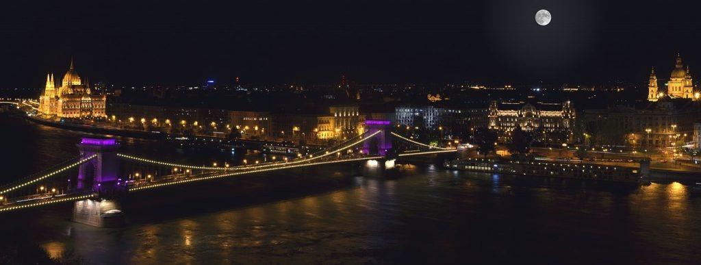 Budapest de noche es bastante seguro
