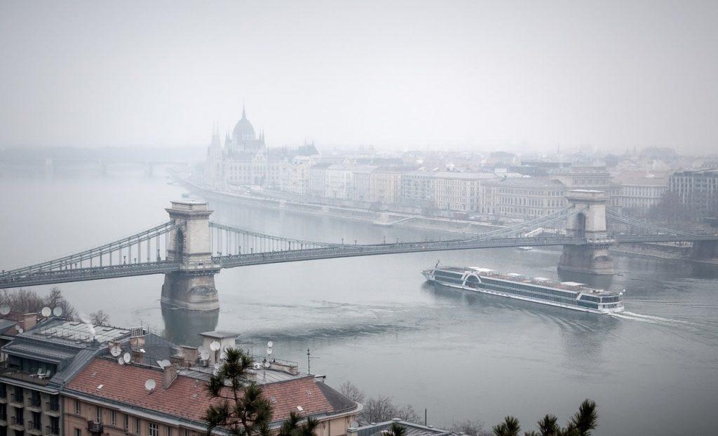 Budapest un día de invierno