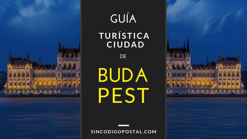Guía turística ciudad de Budapest