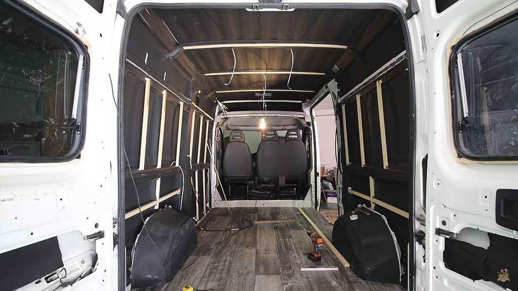 Una furgoneta correctamente aislada es el mejor remedio contra el frío