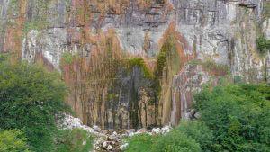 Cascada de Asón desde arriba