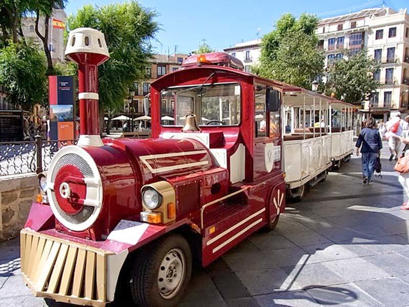 tren turístico Toledo