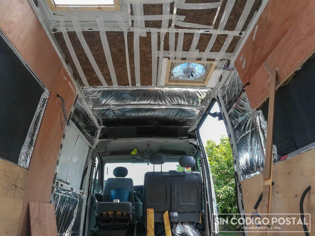 Aislar correctamente la furgoneta, es uno de los paso más importantes