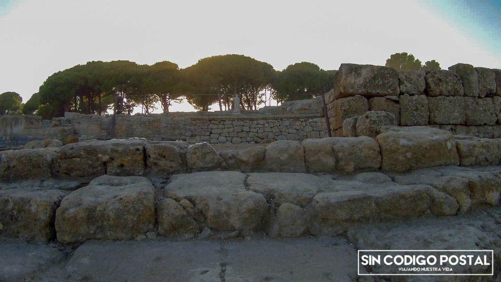 Restos arqueológicos emporión de Ampurias