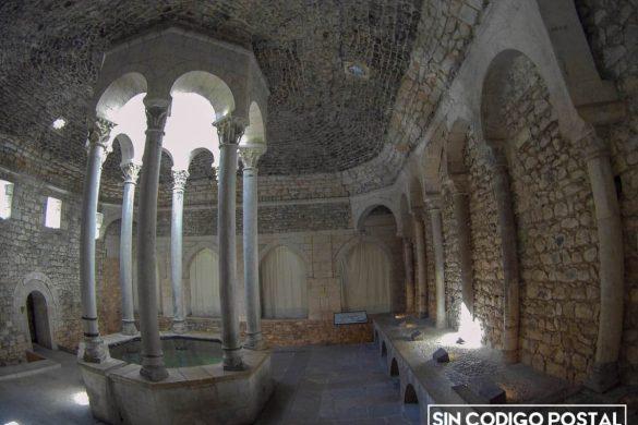Instancia principal de los baños árabes de Gerona