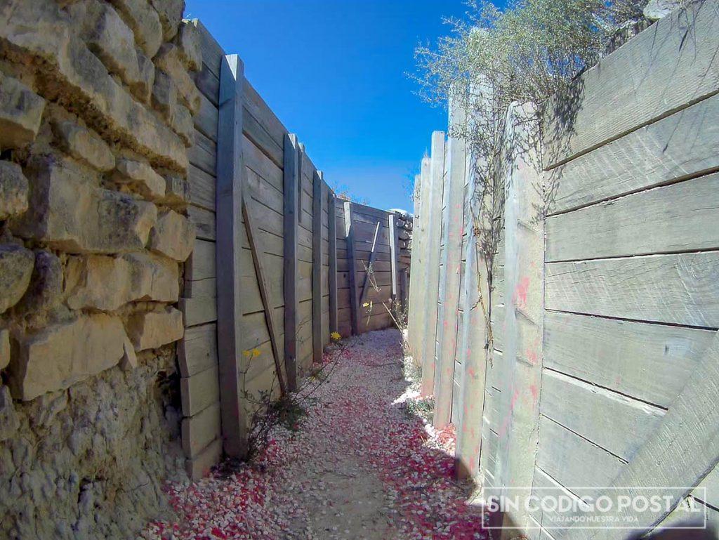 Trincheras de la ruta Orwell, Monegros