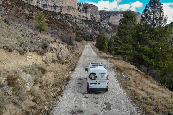 Viajar en furgoneta camper después del confinamiento
