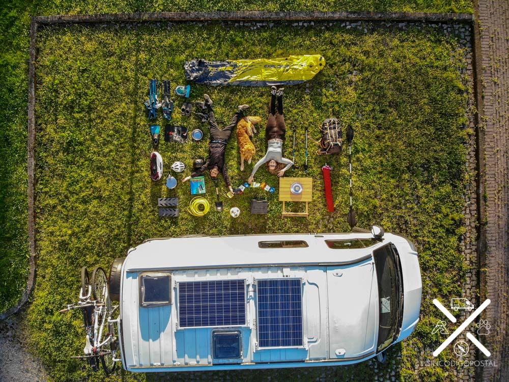 ¿Qué llevar en una furgoneta camper?
