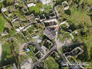 Vista aérea del pueblo de Jánovas