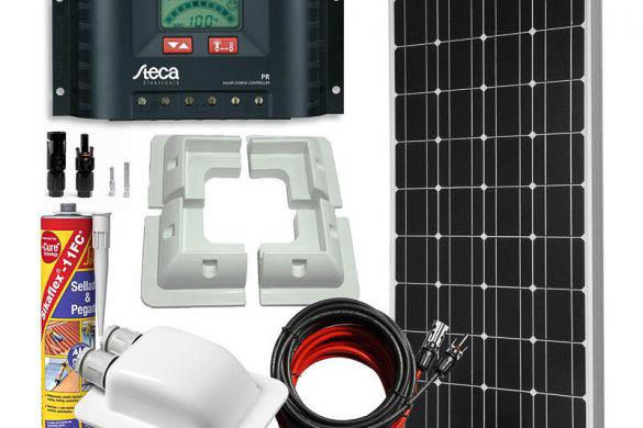 Kit completo solar para una furgoneta camper