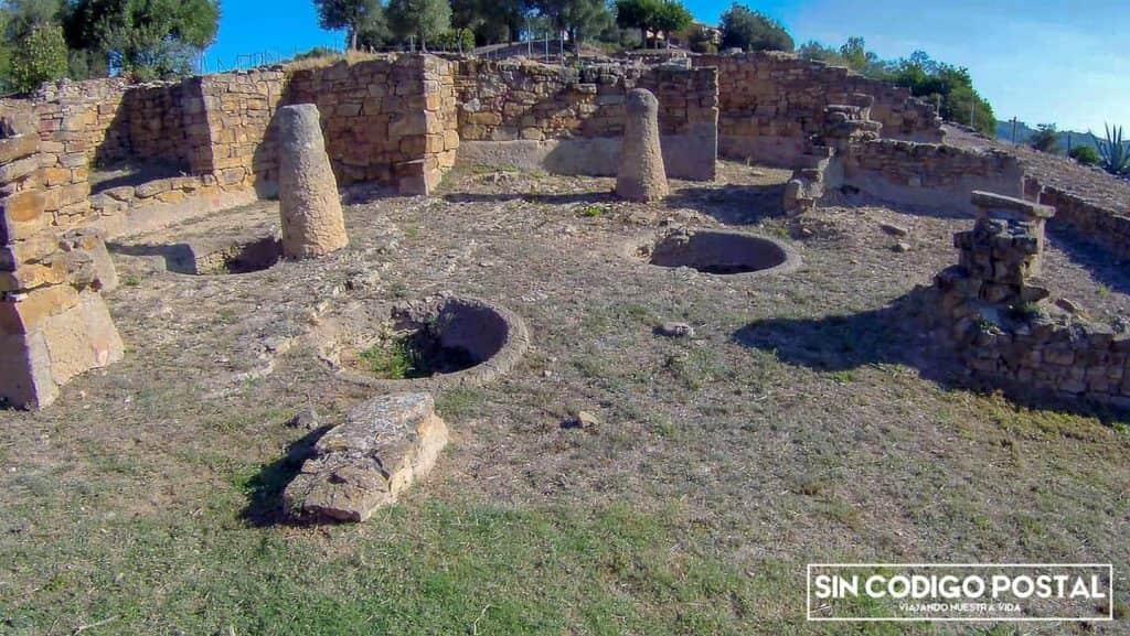 Restos del poblado íbero de Ullastret