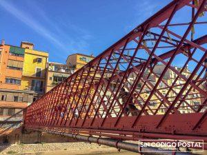 Puente de Hierro o Puente Eiffel en Girona