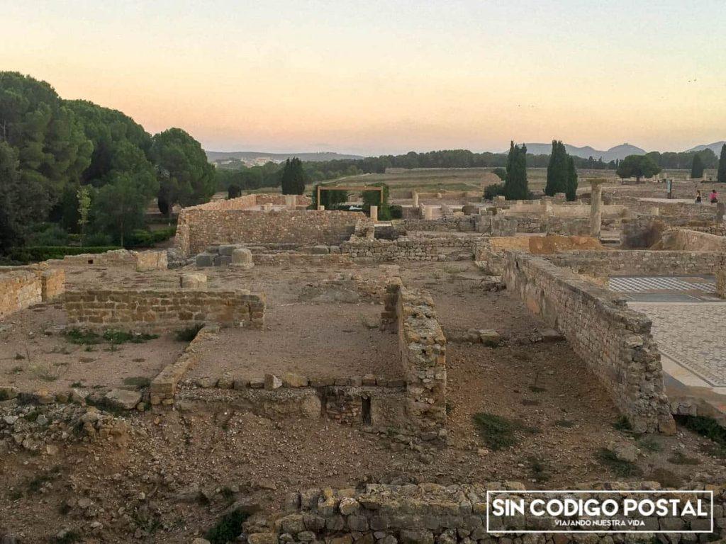 Mosaicos de la ciudad romana de Ampurias