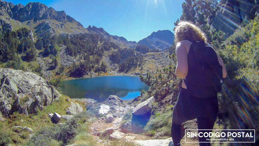 Ruta de los lagos de Colomers