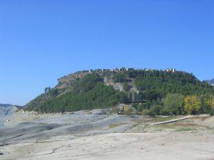 Vista general del pueblo de Tiermas