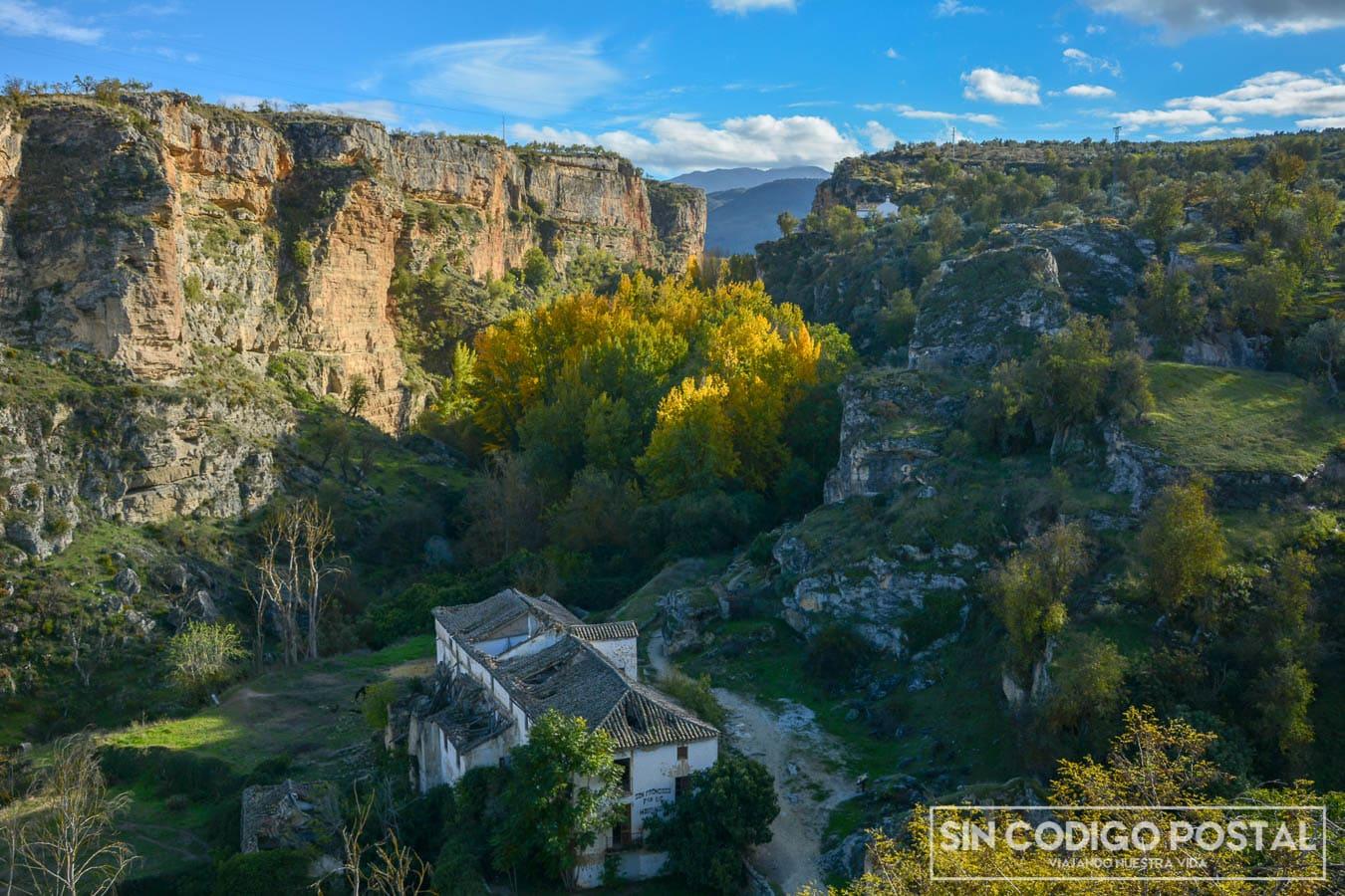 Vistas desde el mirador de Alhama de Granada