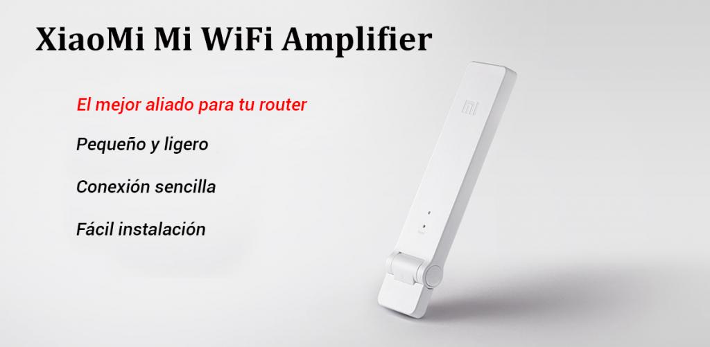 Nosotros usamos este amplificador wifi de Xiaomi para viajar