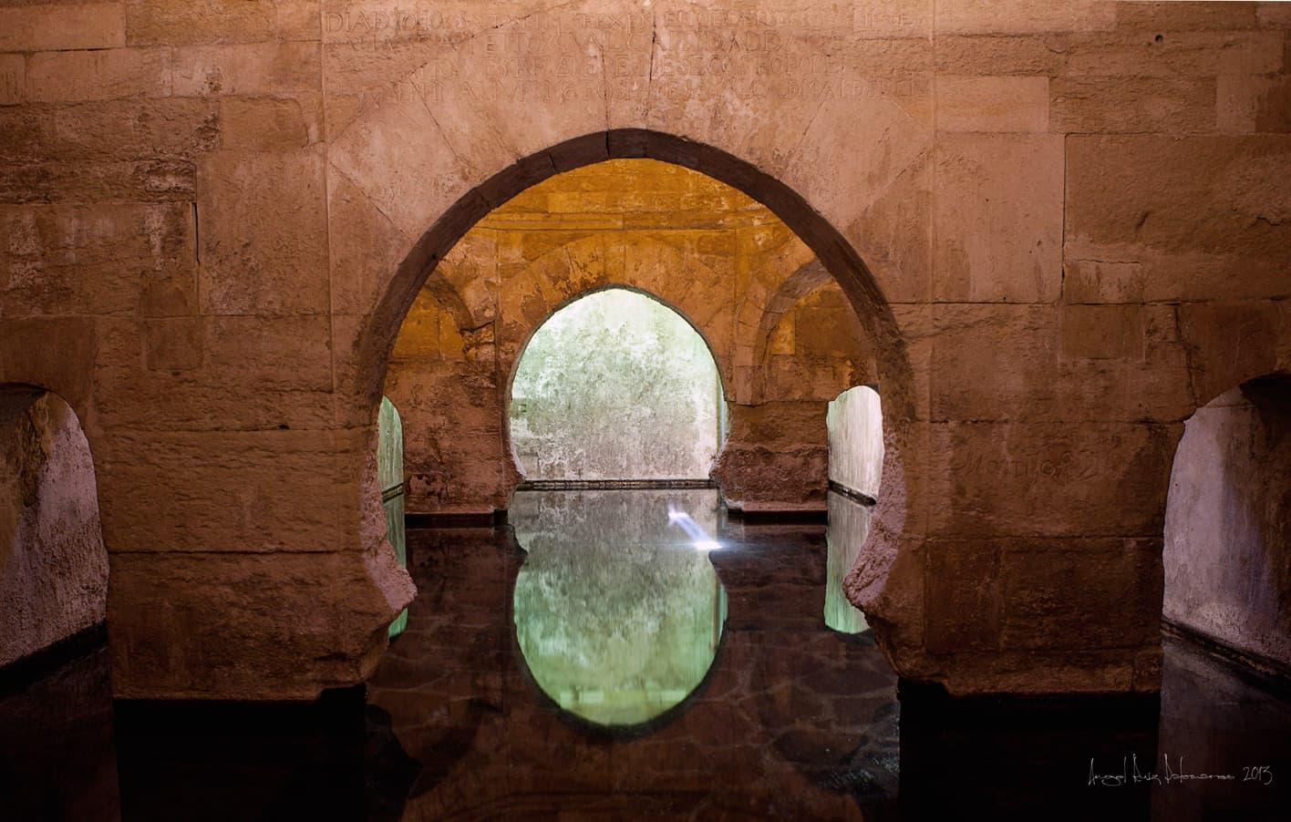 Baños visitables en Alhama de Granada