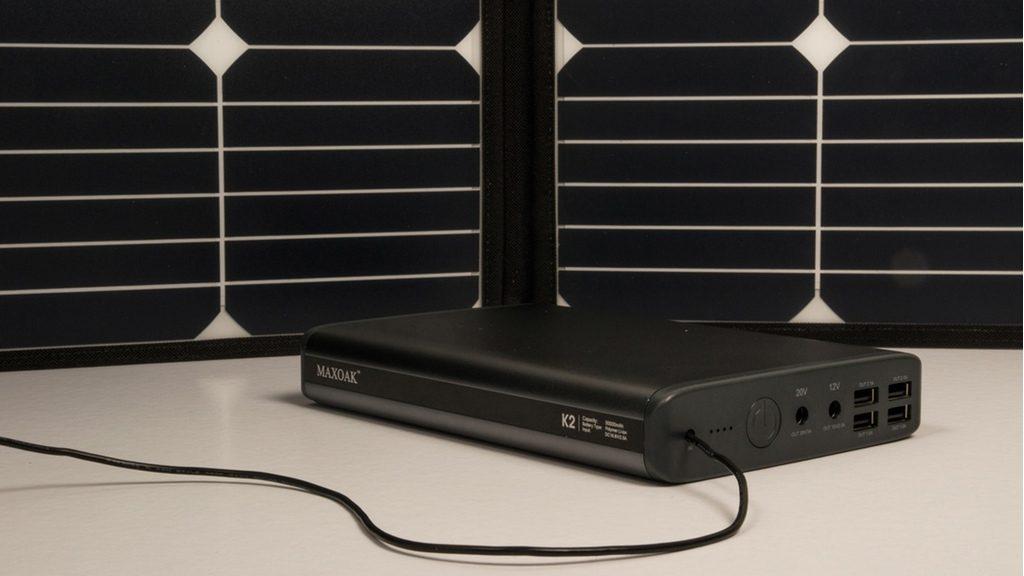 Batería externa solar para camper