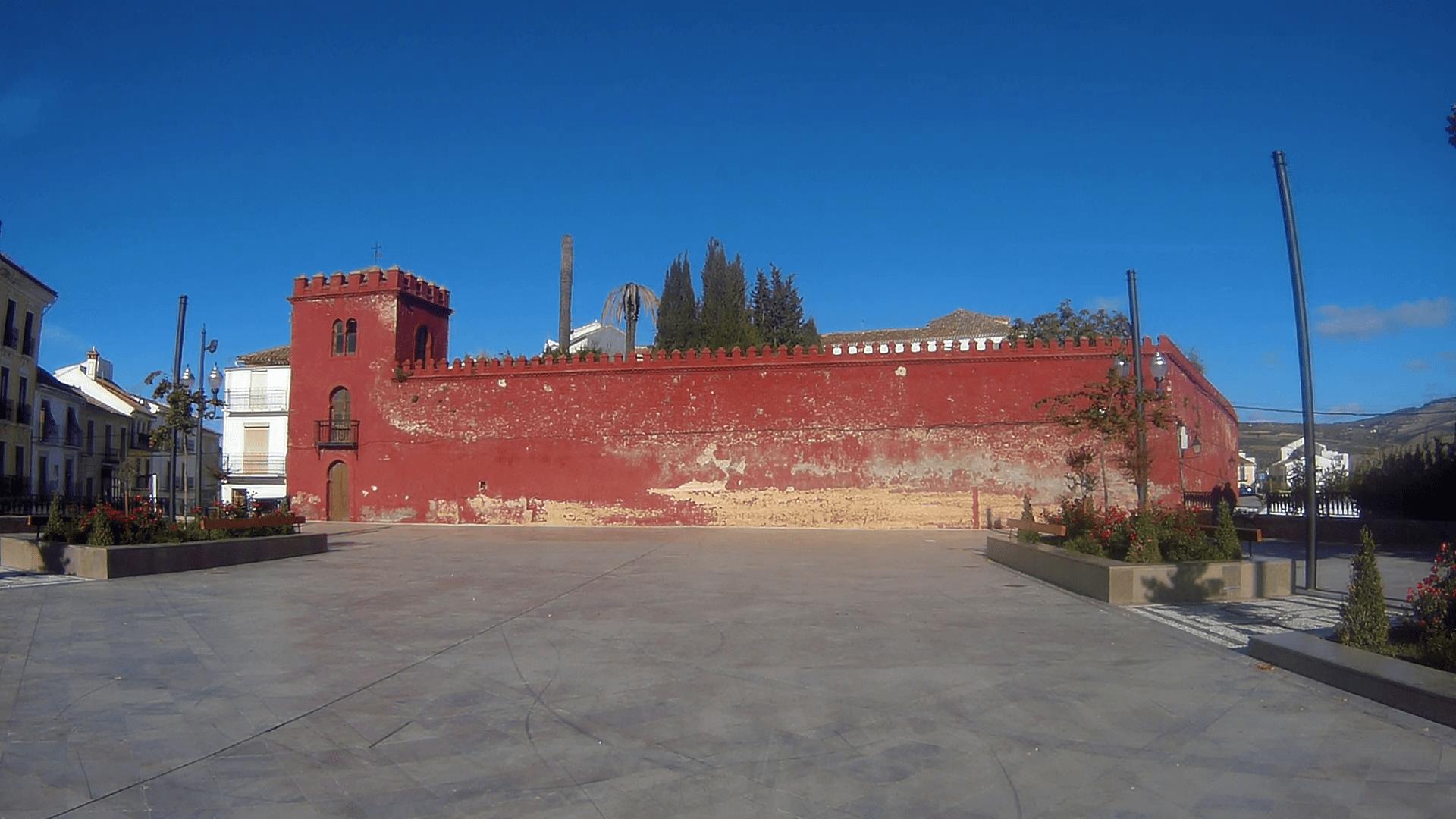Castillo privado en Alhama de Granada