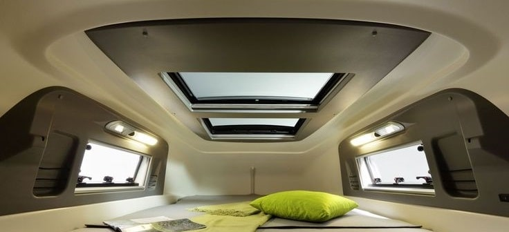 Claraboyas y ventanas, ventilación furgoneta camper