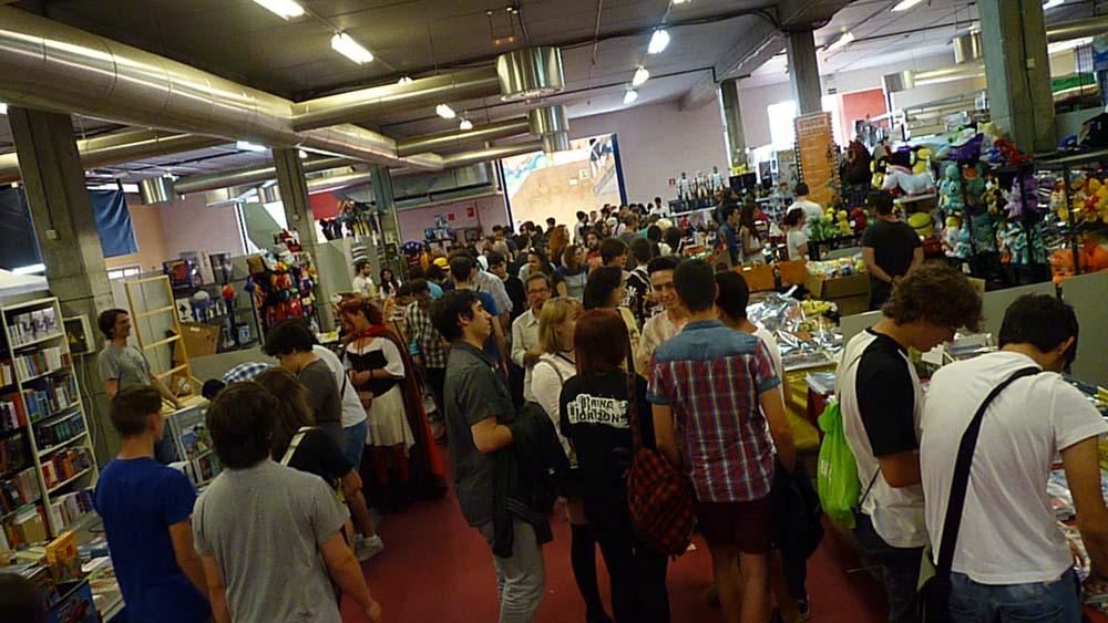Feria del comic y del anime en el Metrópoli de Gijón