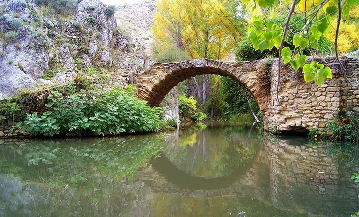 Puente romano en Alhama de Granada