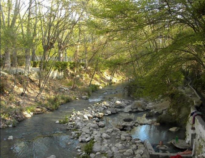 termas gratuitas en Alhama de Granada