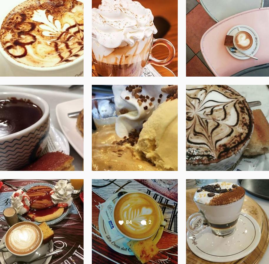 Instagram Casa del Café Gijón