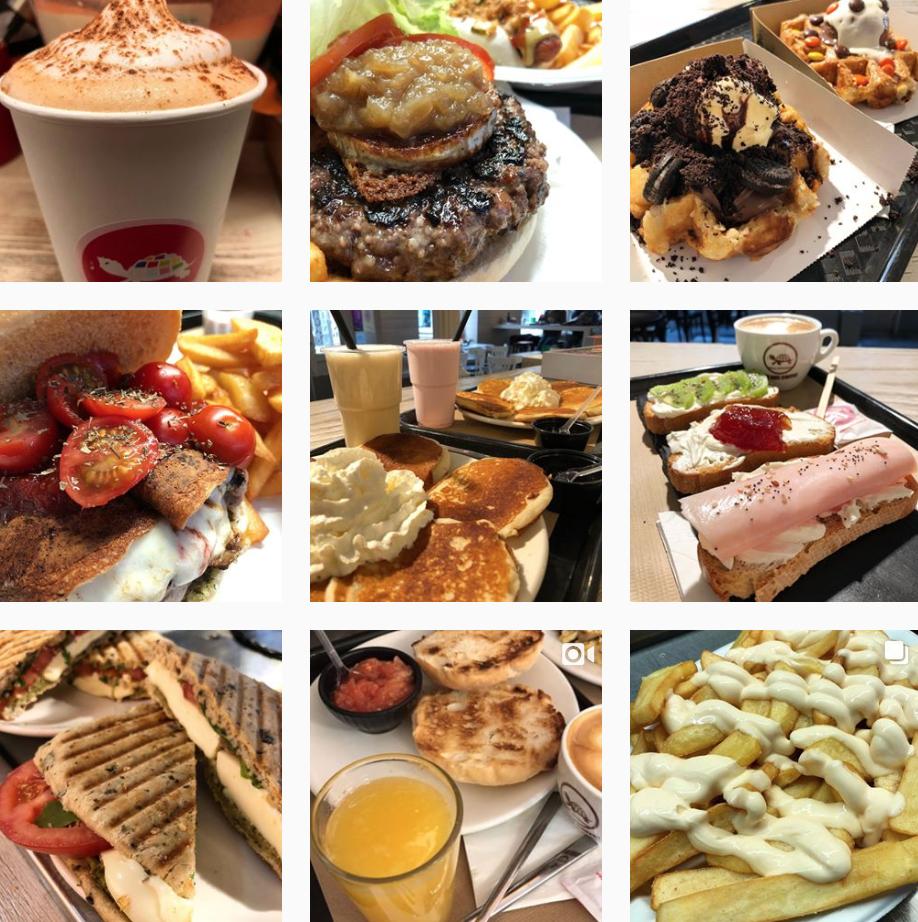 Instagram cafetería-restaurante Que Me Das Gijón