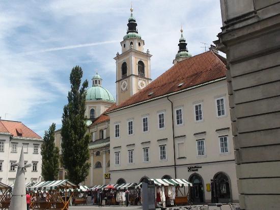 catedral san Nicolas Liubliana