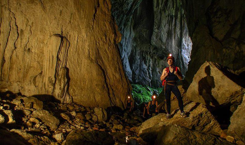 Interior de la cueva de Tinganon. Fuente. desdeasturias.com
