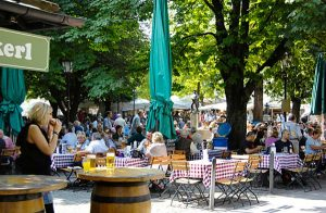 Viktualienmarkt:Mercado de Munich