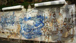 Paneles de Mingote en Ribadesella