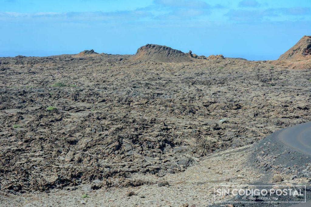 Formaciones de lava en el Parque Nacional