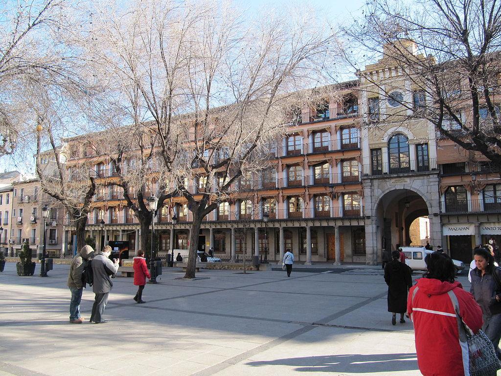 Plaza zocodover de Toledo, lugar del comienzo del Free Tour