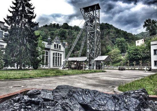 Pozo de San Luis en el Museo Minero