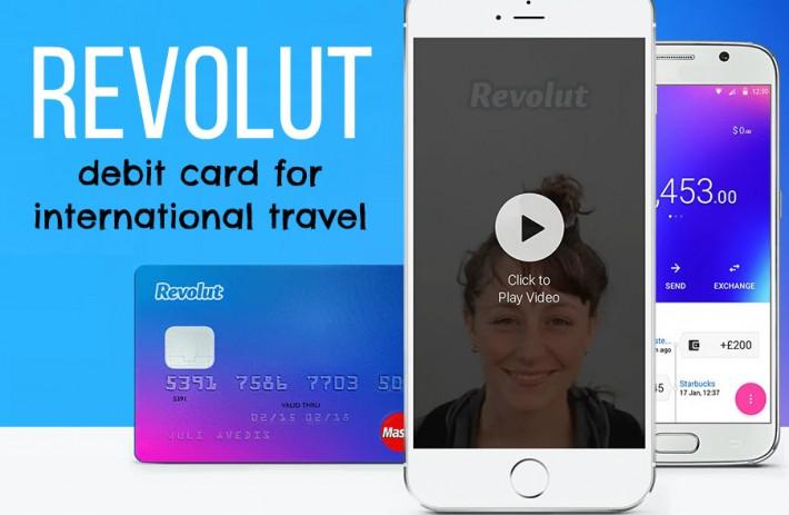 Revolut, tarjeta para viajar sin comisiones