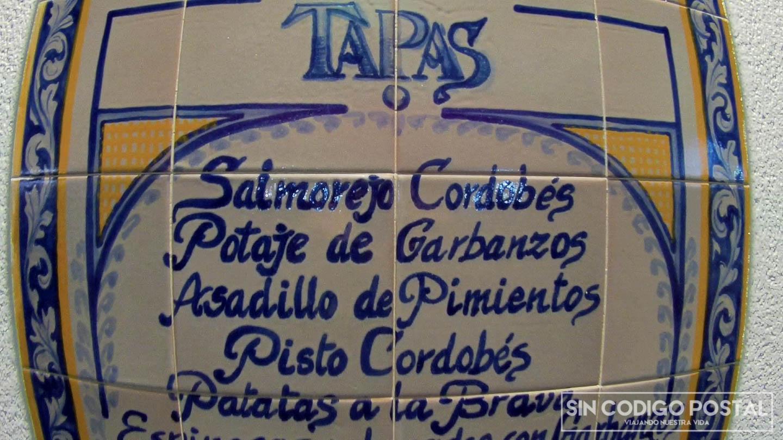 tapas Córdoba