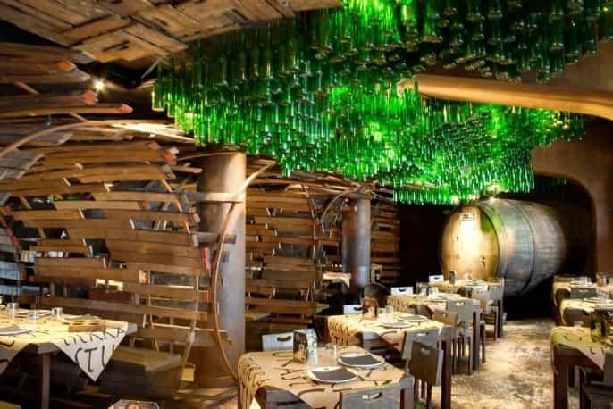 Decoración restaurante Terra Astur Gijón