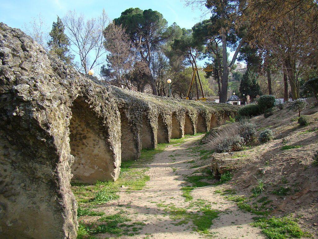 Bóvedas del circo romano.