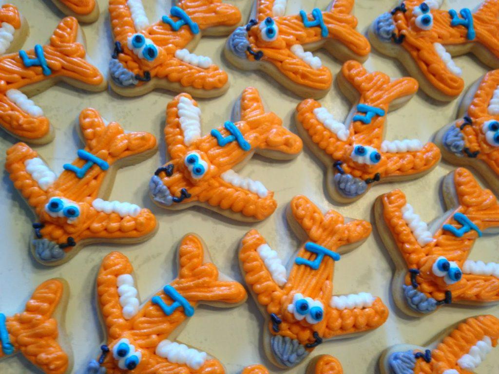 """Literlamente, """"cookies de aviones"""""""
