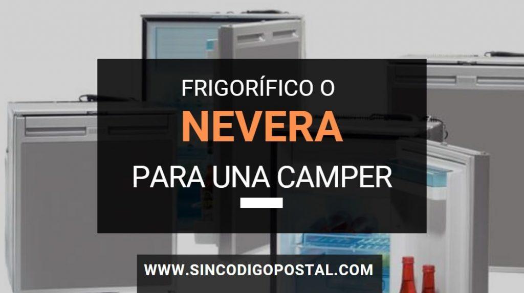 frigorifico nevera furgoneta camper