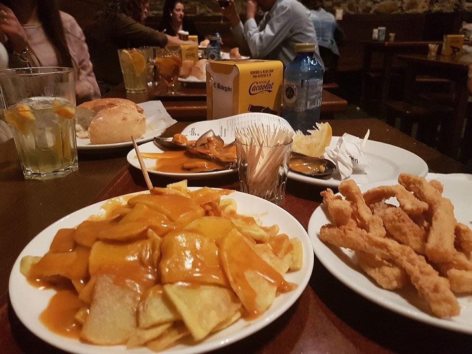 Tapas del restaurante Bodegón