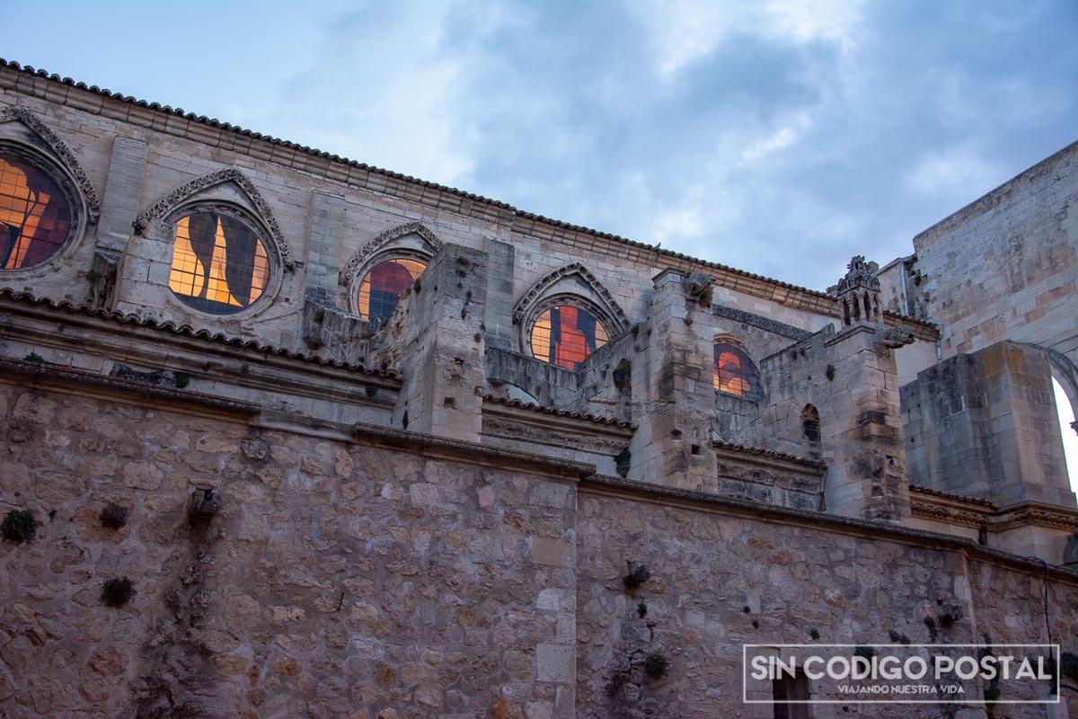 Rosetones de la catedral de Cuenca
