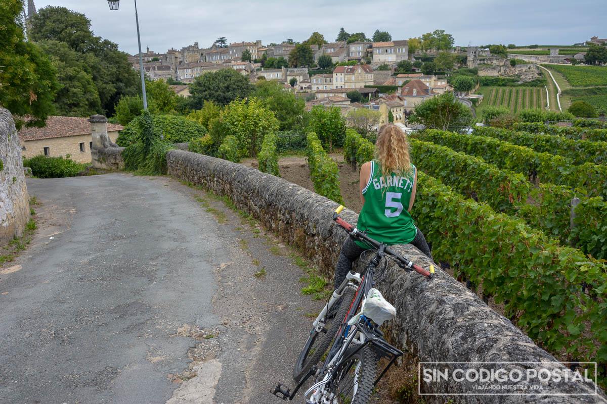 Ruta en bicicleta por Saint Emilion