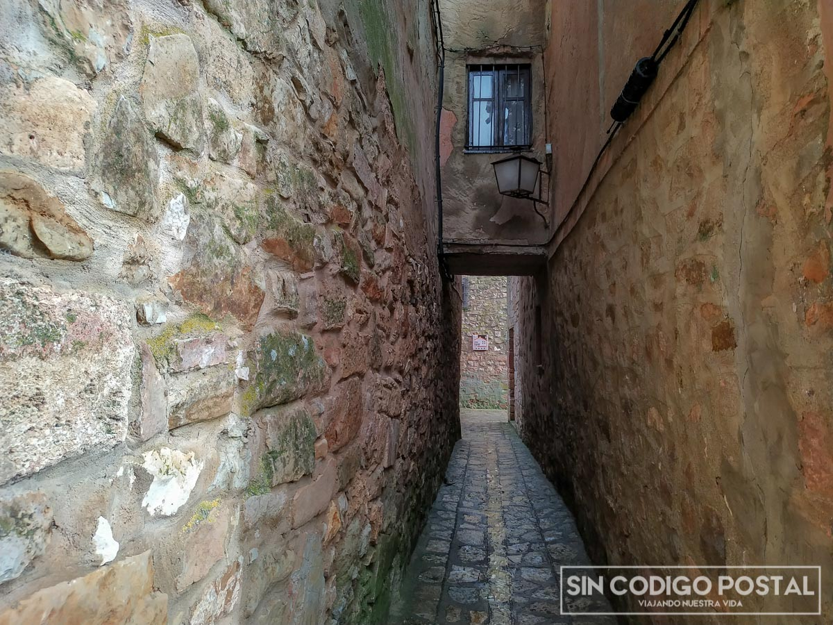Calle estrecha Medinaceli