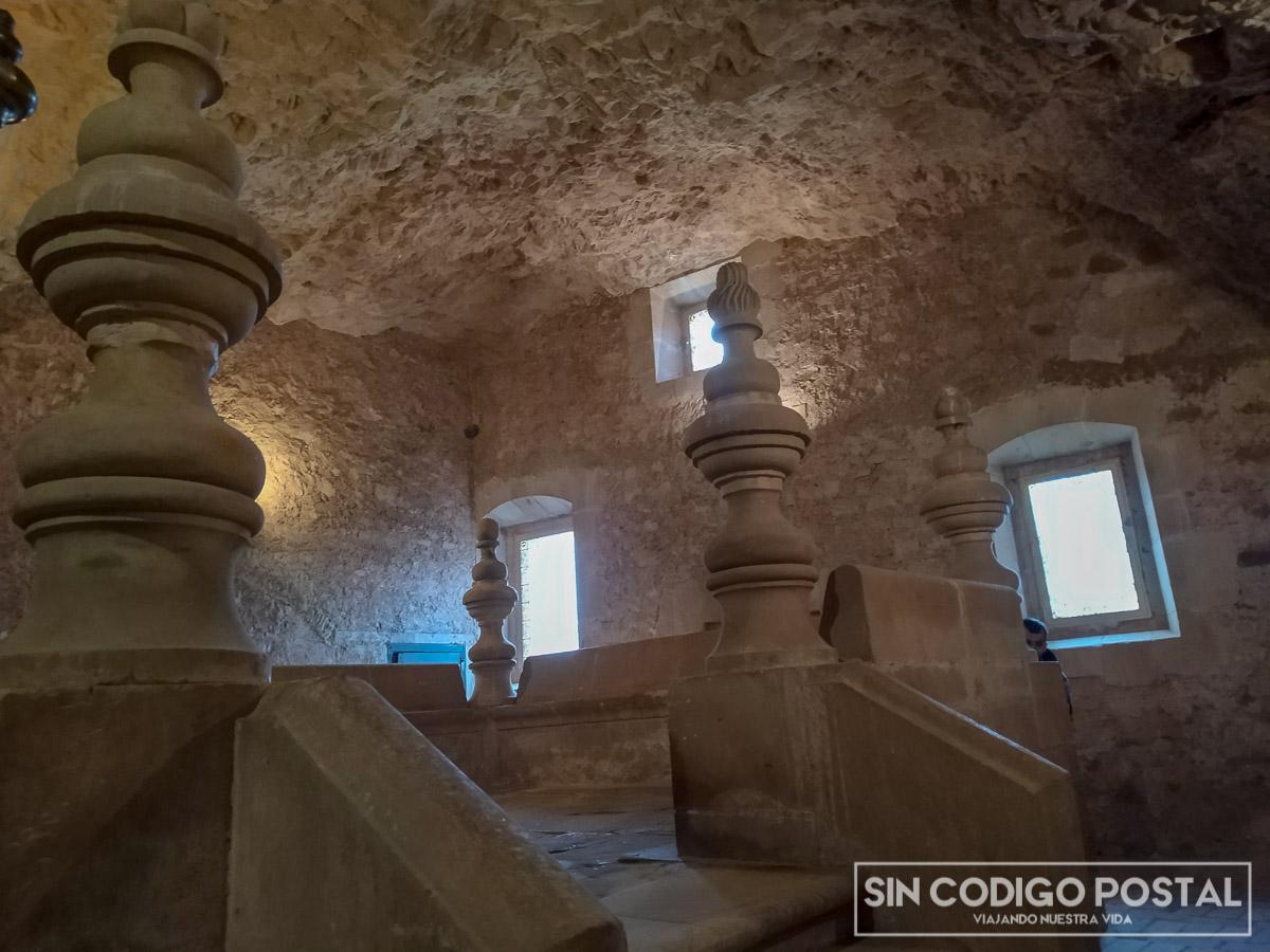 Ermita de San Santurio por dentro