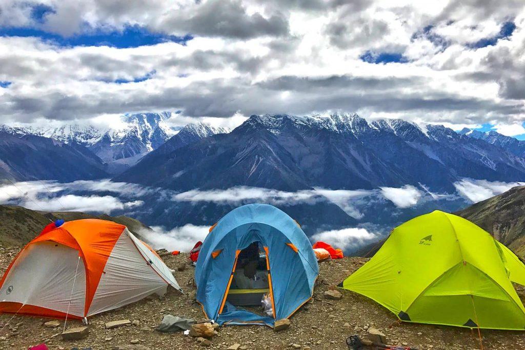 Hay que diferenciar entre acampar y pernoctar